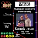 5 Star Student of the Week! Kennedy wins a Scholarship to Steps on Broadway!